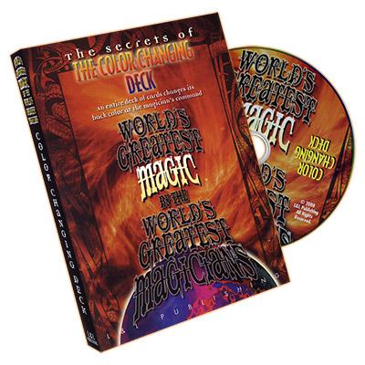 Color Changing Deck Magic (World's Greatest Magic) - DVD