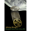 Double Face Coin Thru Bill  by Johnny Wong - Trick
