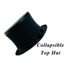 Top Hat Collapsible Premium Magic (Black) - Trick