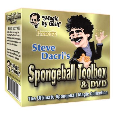 Spongeball Toolbox w/DVD - Trick