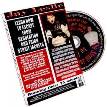 Straight Jacket Escape DVD