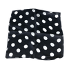 Spotted Silk 09 inch Black w/white spots by Uday - Trick