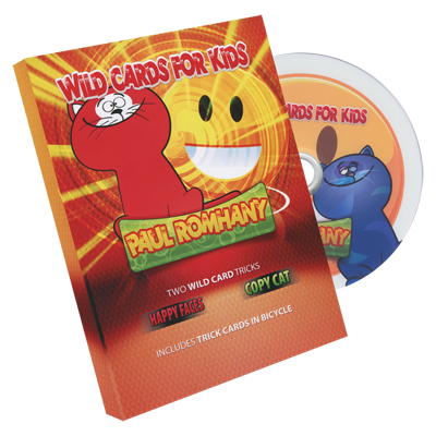 Wild Card Tricks For Kids! (DVD and gimmicks) by Paul Romhany - Trick