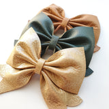 SUNFLOWER Genuine Leather Charlotte Bows