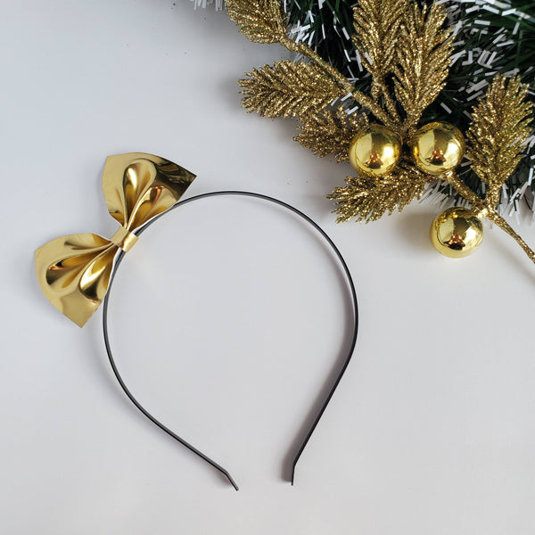 WINTER LUXE Cindy Lou Headband Bows