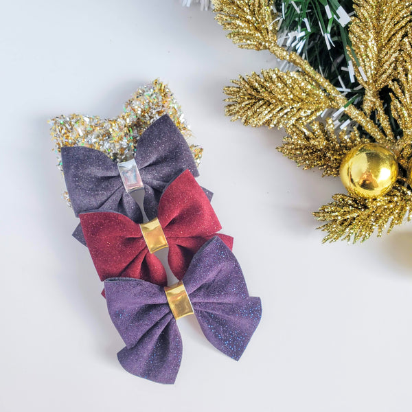 WINTER LUXE Ella Bows