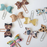 CORK Bow Paper Clips