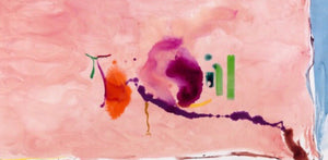 Flirt [Helen Frankenthaler] - Made Cloud - Ready to Ship