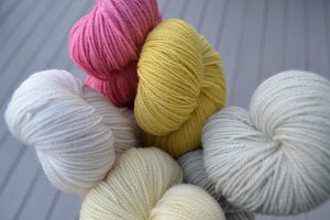 Limited Edition Naturally Dyed Fingering and Lace - 02 - Ready to Ship