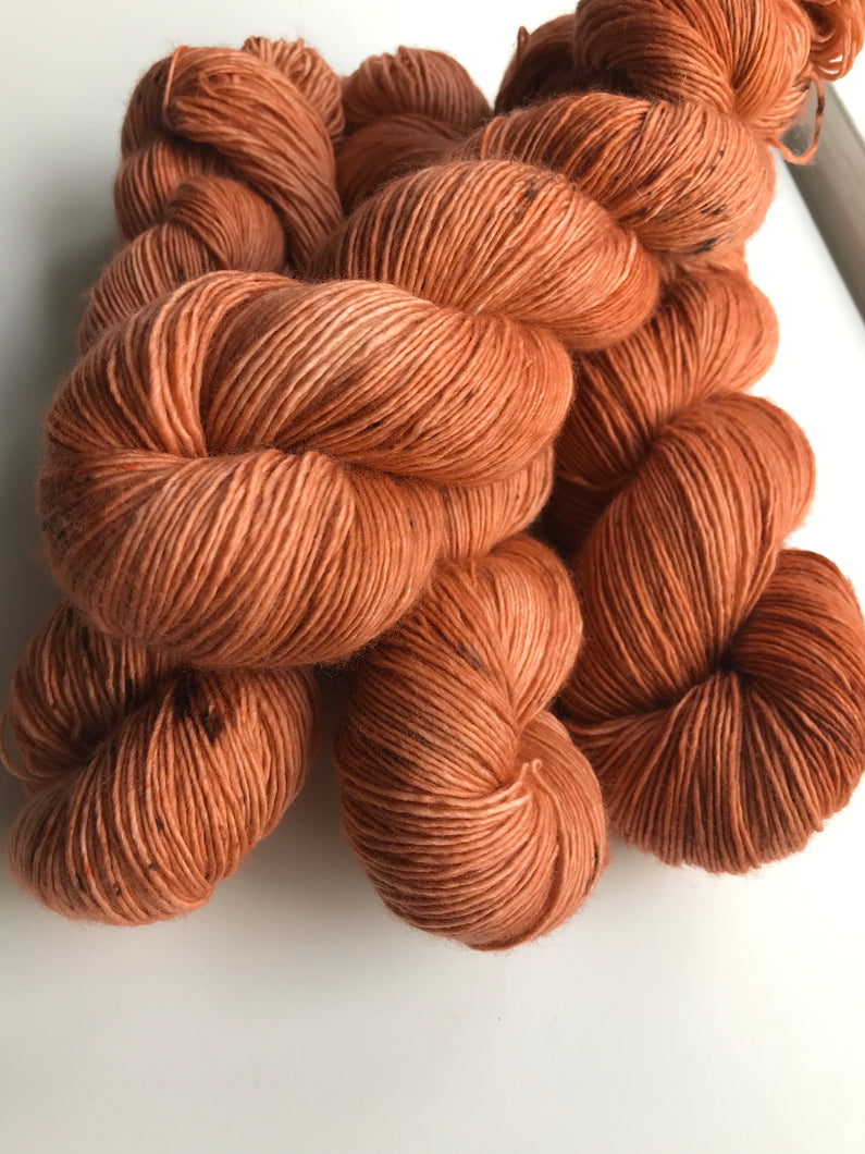 DYED TO ORDER - ROASTED CARROT