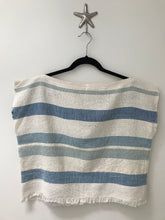 Handwoven - Indigo Stripe Top