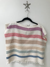 Handwoven - Rainbow Stripe Top #2