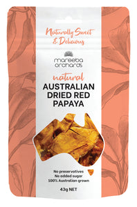 Australian Dried Red Papaya