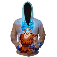 Dragon Ball Z Hoodies-dragonball- Chinese Panda- Chinese Panda