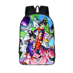 Dragon Ball Frieza Goku Cell Gohan Buu Dragon Ball School Backpack Bag-dragonball- goku shop