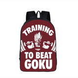 Dragon Ball Gym Training to Beat Goku School Backpack Bag-dragonball- goku shop