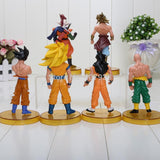 Dragon Ball Z Goku Model Toys 1set=6pcs-[dbz]-[action]-[figures]- gokutoys shop