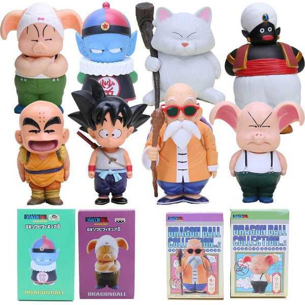 Dragon ball Z s Oolong Goku Mater Roshi Popo Pilaf Karin Toriyama Model Toys-[dbz]-[action]-[figures]- gokutoys shop