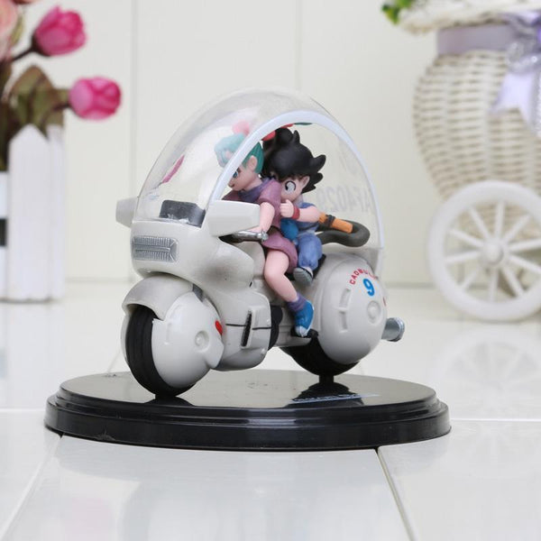 Dragon Ball Z Son Goku Bulma Motorcycle Model Toy-[dbz]-[action]-[figures]- gokutoys shop