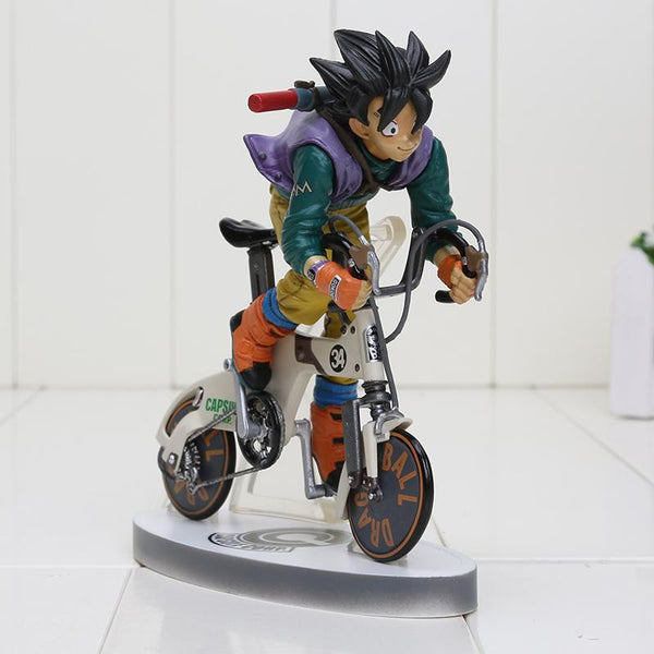 Dragon Ball Z Son Goku Kakarotto Rinding Bicycle Bike Model Toys-[dbz]-[action]-[figures]- gokutoys shop