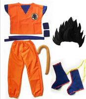 Dragon Ball Z Suit Son Goku Cosplay For Adult/ Kids-dragonball- goku shop