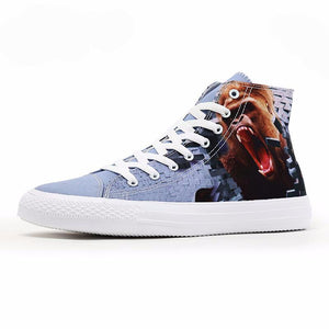 King Kong High Top Shoes Customized 3D Prints