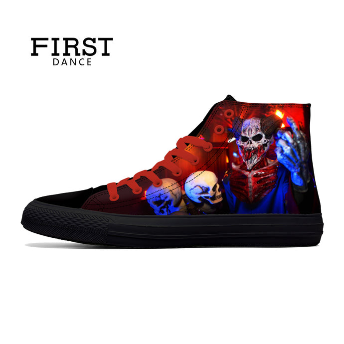 Shoes: Clown Print Casual Sneakers