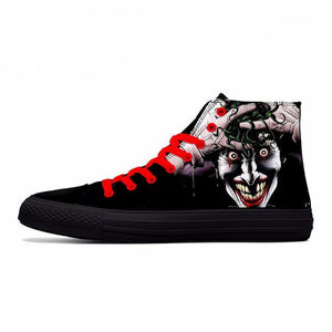Joker High Canvas Shoes  3D Printed