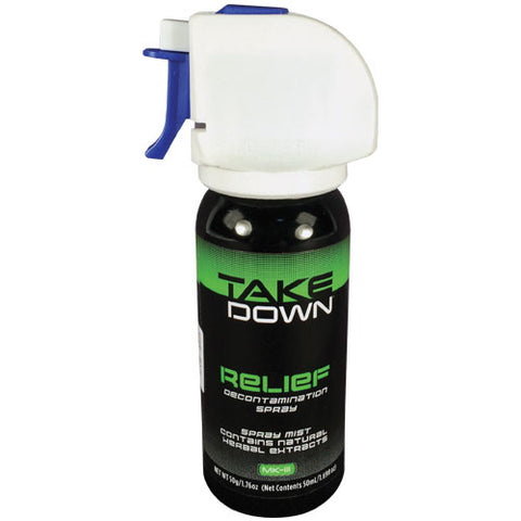 Mace® Take Down OC Relief Decontamination Spray