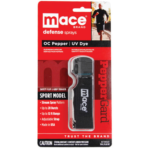 Mace® Pepper Spray for Joggers - Black