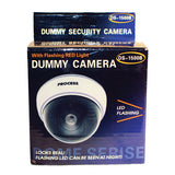 Dummy Camera - Dome Camera with LED and White Body