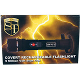 Covert 9 Million Volt Rechargeable Flashlight Stun Gun
