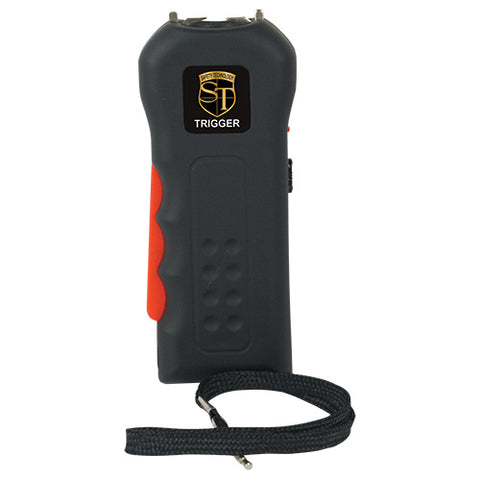 Trigger 18 Million Volt Squeeze-to-Stun Rechargeable Stun Gun with Flashlight
