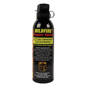 Wildfire® 1.4% MC 1lb Pepper Spray Pistol Grip Fogger