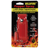 Wildfire® 1.4% MC 1/2 oz Pepper Spray Leatherette Holster - Red