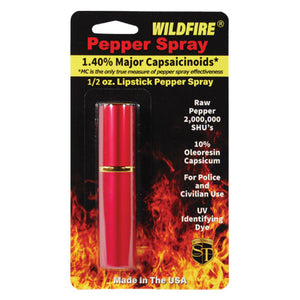 Wildfire® 1.4% MC Lipstick Pepper Spray Red