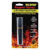 Wildfire® 1.4% MC Lipstick Pepper Spray Silver