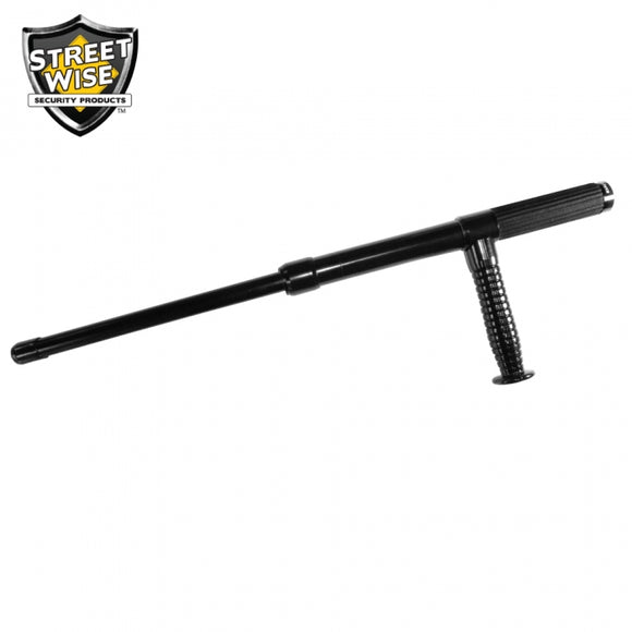 21-inch Police Force Expandable Tonfa Baton with Holster