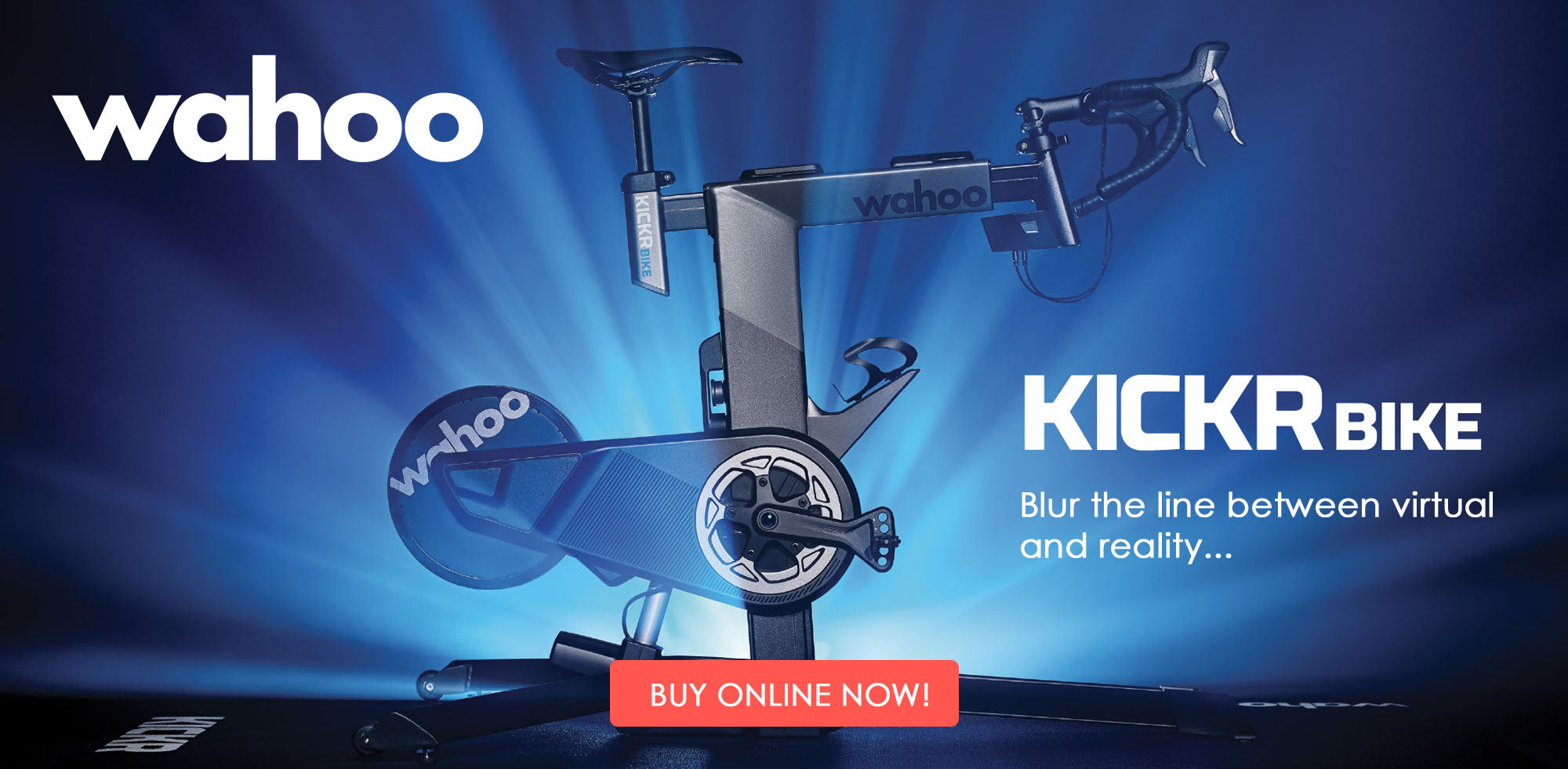 Wahoo Kickr Bike - Pre-order now