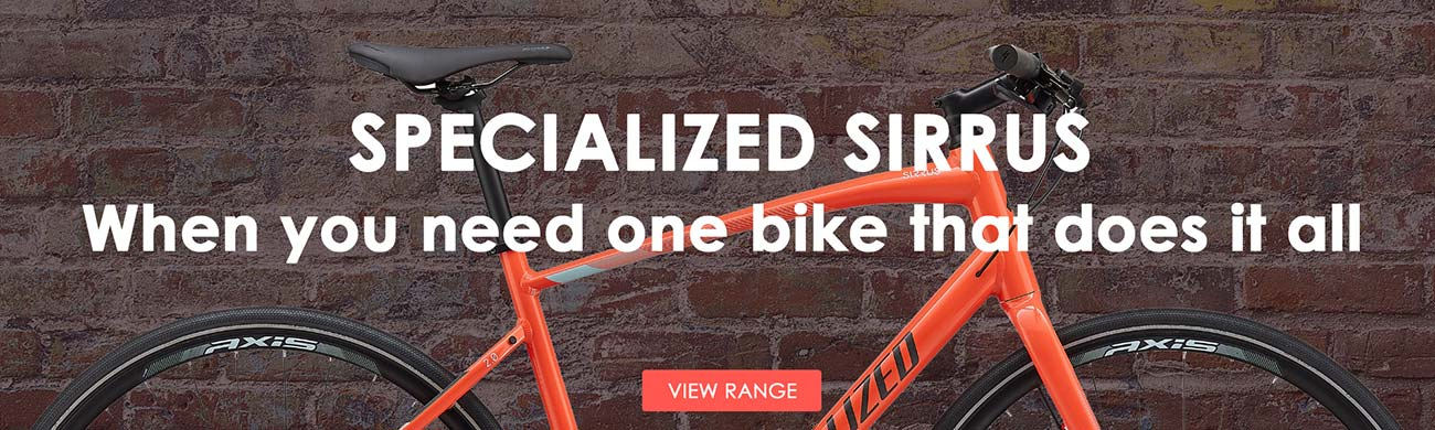 2020 Specialized Sirrus - When you need one bike that does it all.