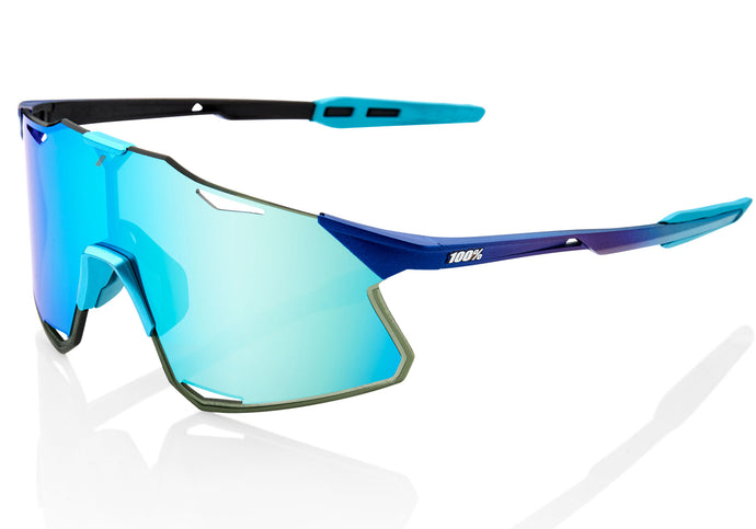 100% Hypercraft M Metallic/B Topaz Cycling Sunglasses at Woolys Wheels Sydney online shopping
