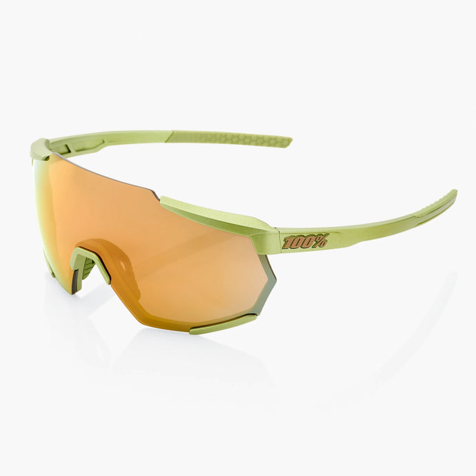 100% Racetrap Cycling Sunglasses, Matt Metalic Viperidae with Bronze Multilayer Mirror Lens +Clear Lens buy online at Woolys Wheels with free delivery