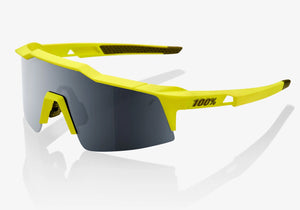 100% Speedcrsaft SL Soft Tact Banana with Black Mirror Lens Cycling Sunglasses buy online at Woolys Wheels Sydney