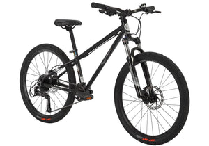 BYK E540 Mountain Bike with Disc Brakes, Black at Woolys Wheels Sydney