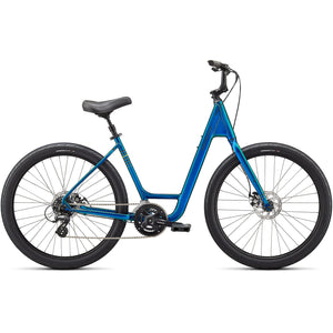 2021 Specialized Roll Sport Low Entry, Gloss Teal Tint, Unisex Fitness Bike