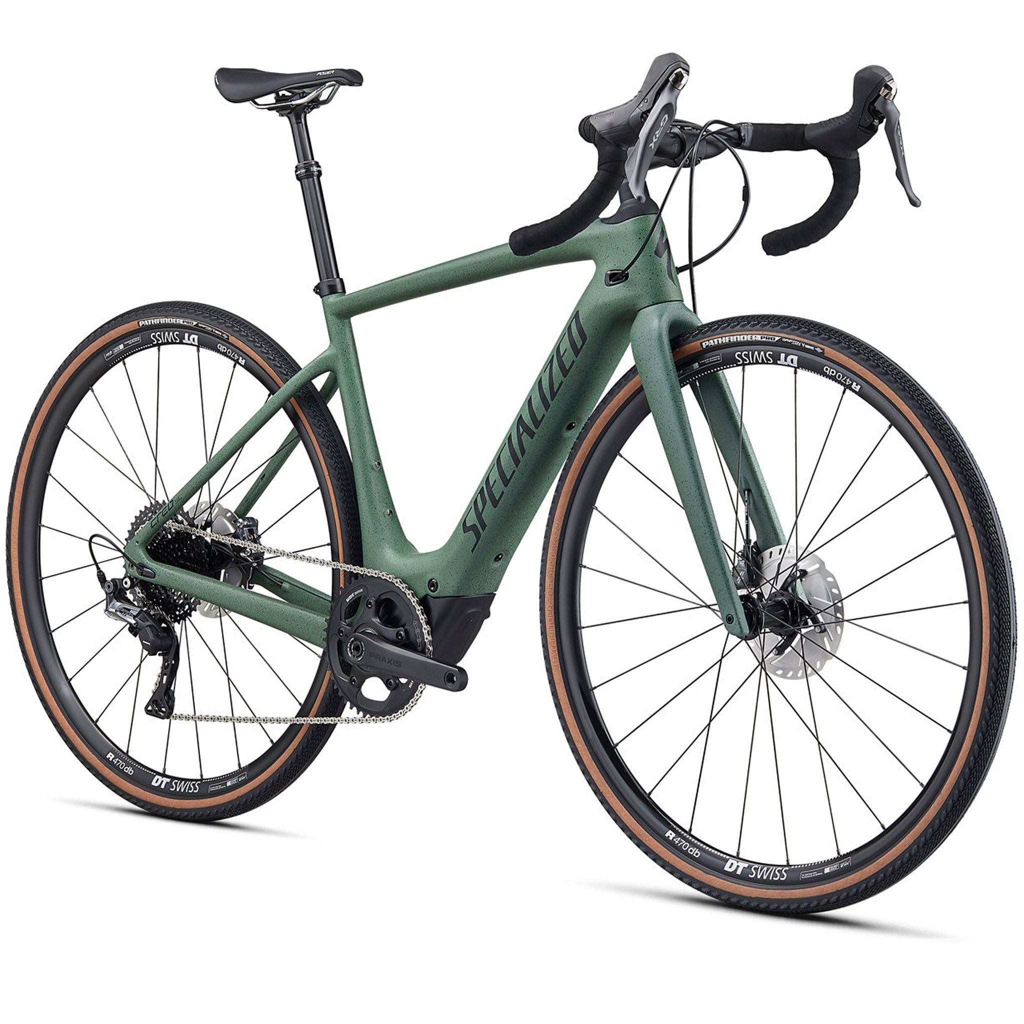 2021 Specialized Turbo Creo SL Comp Carbon Evo, Satin Sage Green, E-Bike Woolys Wheels Sydney