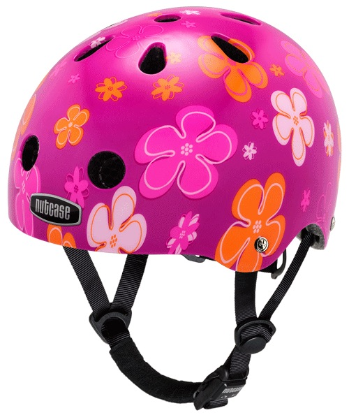 Nutcase Baby Nutty Toddler Helmet, Petal Power, Woolys Wheels Sydney