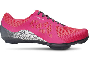 Specialized Women's Remix Shoes,  Electric Pink/Cool Grey Woolys Wheels Sydney