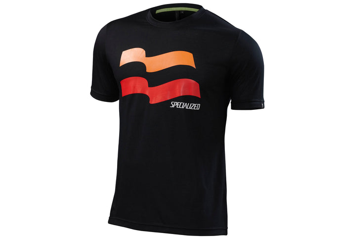 Specialized Enduro Drirelease Mens Tee Short Sleeve Black
