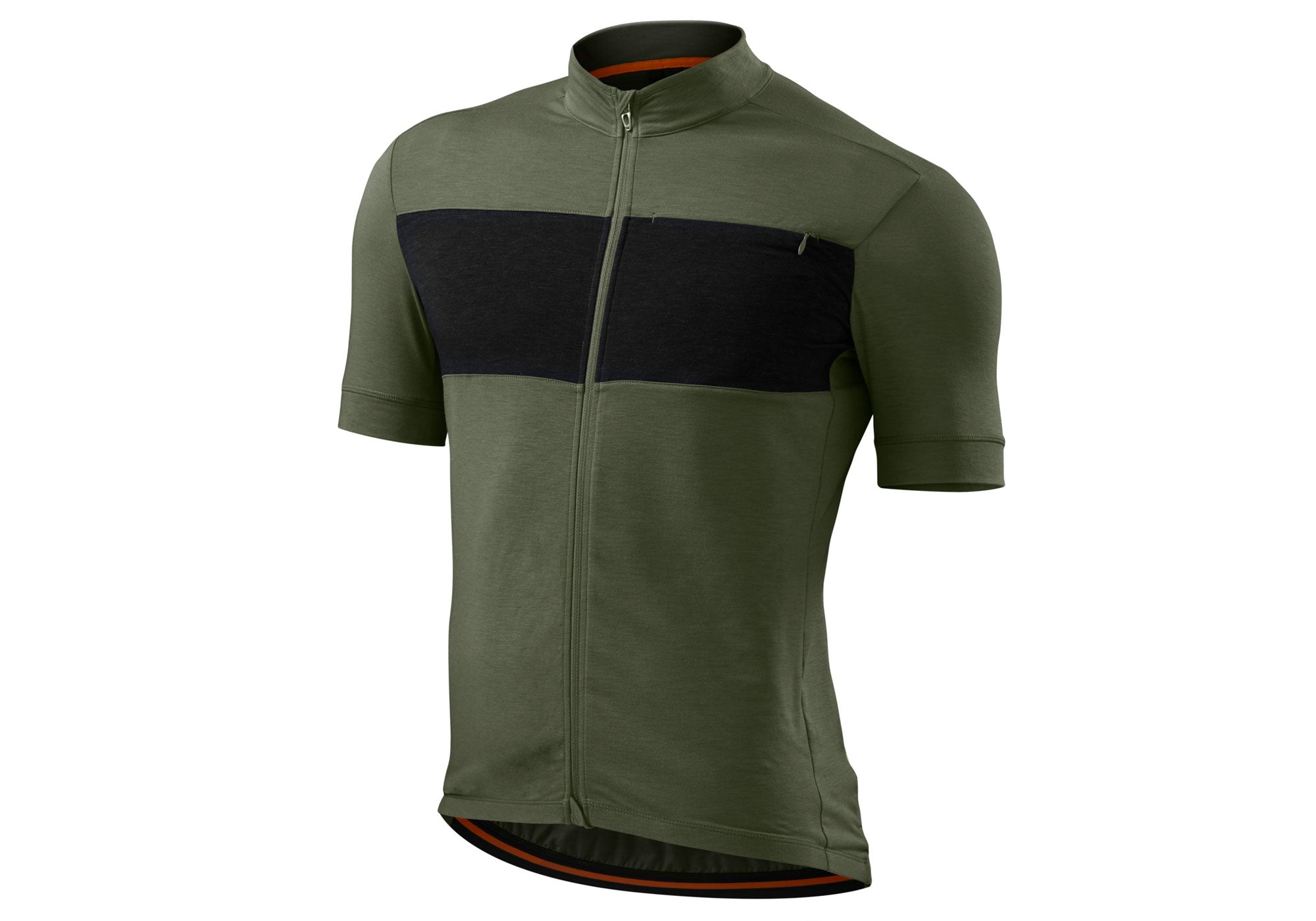 Specialized RBX Drirelease Merino Mens Short Sleeve Oak Green/Black/Heather XXL Only